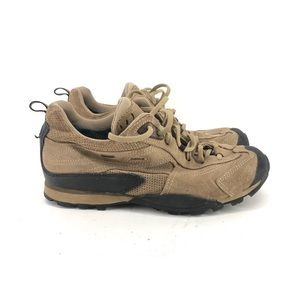 B45) ASOLO brown Leather GORE-TEX Low VIBRAM  Hiki